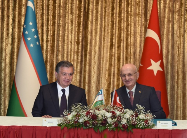 THE STATE VISIT OF THE PRESIDENT OF UZBEKISTAN TO TURKEY WAS FRUITFUL
