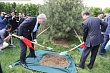 "UZBEK DELEGATION PARTICIPATES IN THE CEREMONY OF LAYING THE ""LAWN SCO"""