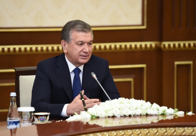 PRESIDENT OF UZBEKISTAN RECEIVED THE MINISTER OF NATIONAL DEFENSE OF TURKEY
